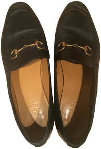 Gucci Loafer Chic Black/gold Flats