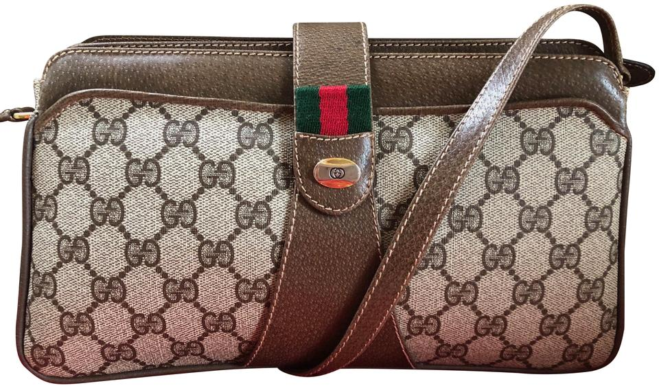 49c43aaee31a Gucci Made In Italy Accessory Collection Monogram Web Accordion Cross Body  Bag Image 0 ...
