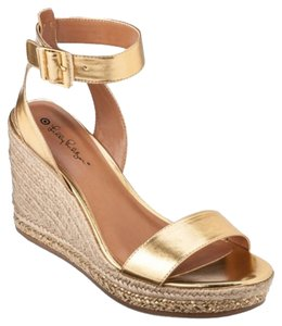ef350f2b2995 Lilly Pulitzer For Target For Target Womens Espadrille Sandals Size 8 Size  8 Gold Wedges