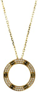 Cartier Cartier 18k Yellow Gold Love Necklace, Diamond-Paved