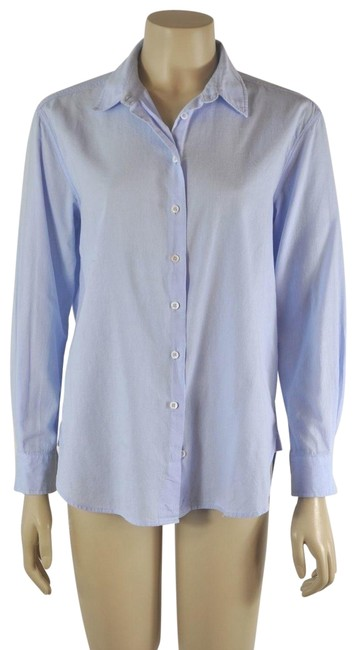 Preload https://img-static.tradesy.com/item/24443765/blue-women-s-azul-shirt-button-down-top-size-6-s-0-1-650-650.jpg