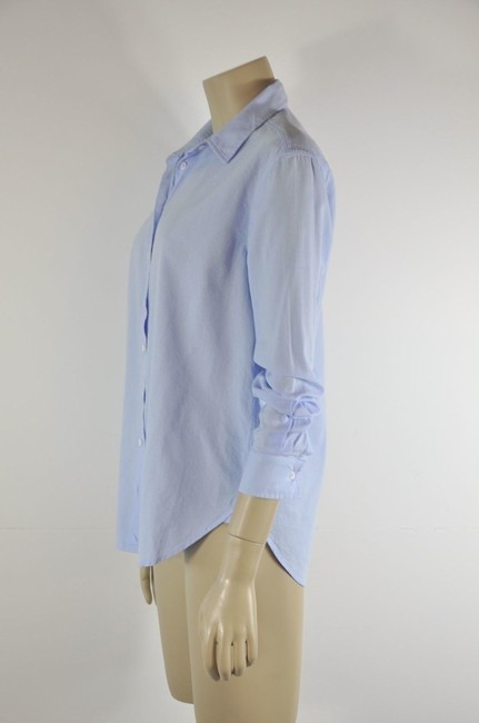 Intropia Button Down Shirt Blue Image 1