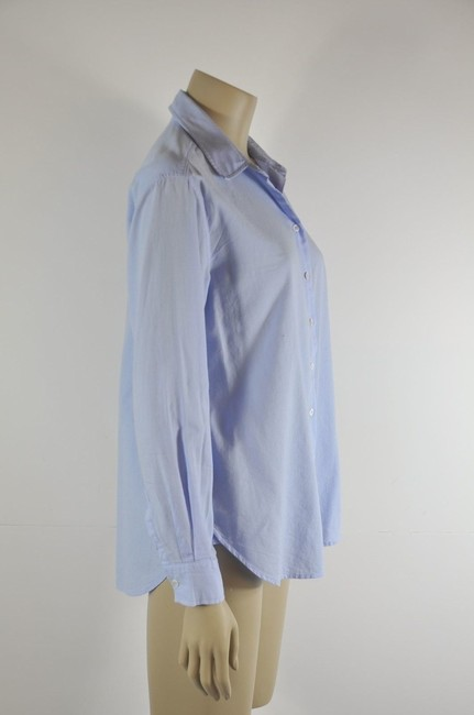 Intropia Button Down Shirt Blue Image 2
