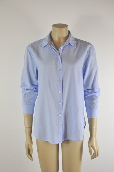 Intropia Button Down Shirt Blue Image 3