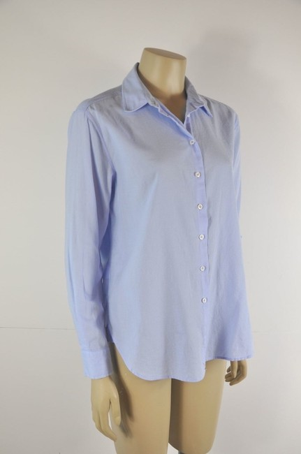 Intropia Button Down Shirt Blue Image 4