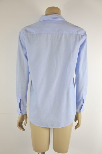 Intropia Button Down Shirt Blue Image 5
