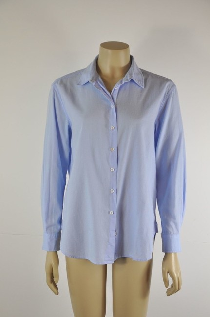 Intropia Button Down Shirt Blue Image 6