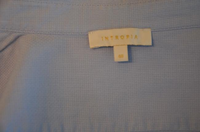 Intropia Button Down Shirt Blue Image 7