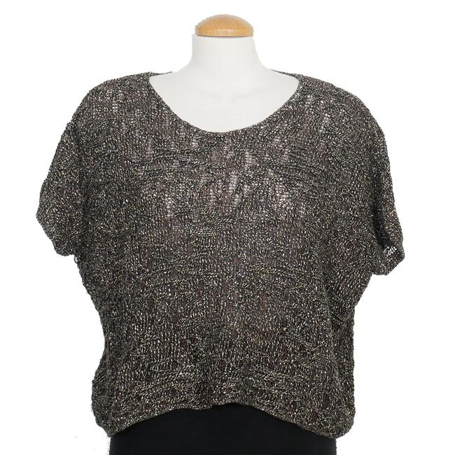 Preload https://img-static.tradesy.com/item/24443866/eileen-fisher-wrapped-linen-cotton-sparkle-jacquard-bronze-browngray-sweater-0-0-650-650.jpg