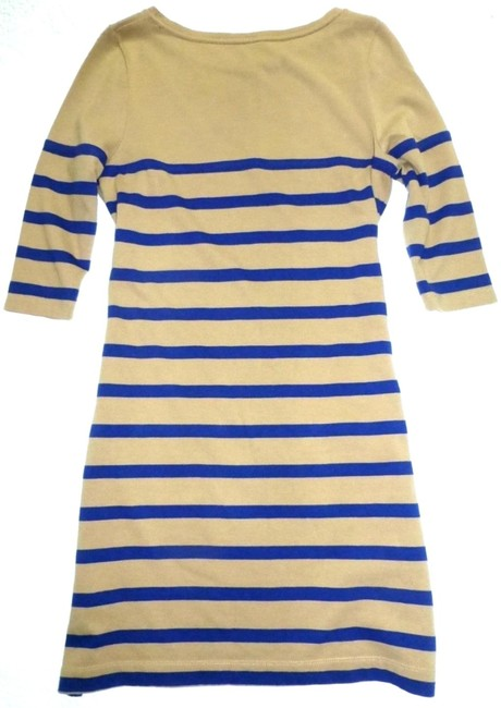 Boden short dress Tan Striped Breton Knit 2 Pockets on Tradesy Image 4