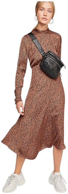 Item - Cocoa Loveless Printed Midi Mid-length Night Out Dress Size 2 (XS)