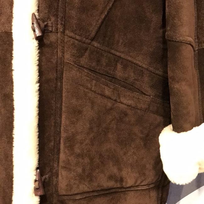 Wilsons Leather Brown/Ivory Leather Jacket Image 5