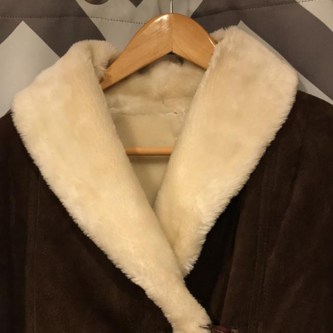 Wilsons Leather Brown/Ivory Leather Jacket Image 6