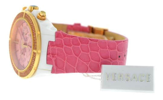 Versace New Versace DV One Cruise 28CCP15D111 S111 Ceramic Rose Gold IP 43MM Image 7