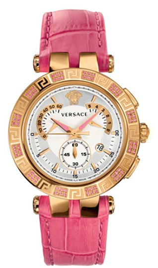 Preload https://img-static.tradesy.com/item/24444085/versace-gold-tone-stainless-steel-ceramic-new-dv-one-cruise-28ccp15d111-s111-rose-ip-43mm-watch-0-0-540-540.jpg