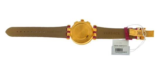 Versace New Versace DV One Cruise 28CCP15D111 S111 Ceramic Rose Gold IP 43MM Image 5