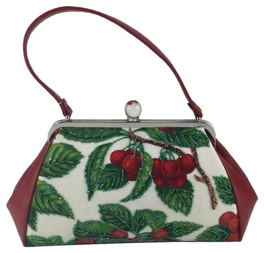 Preload https://img-static.tradesy.com/item/24444126/isabella-fiore-dolly-frame-cherries-red-leather-satchel-0-1-540-540.jpg