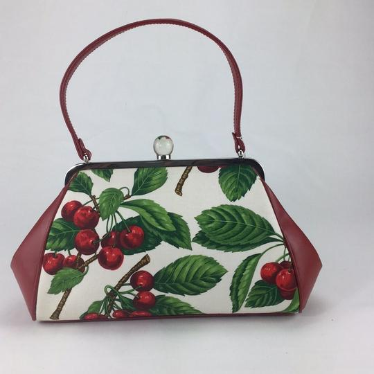 Isabella Fiore Satchel in red Image 1