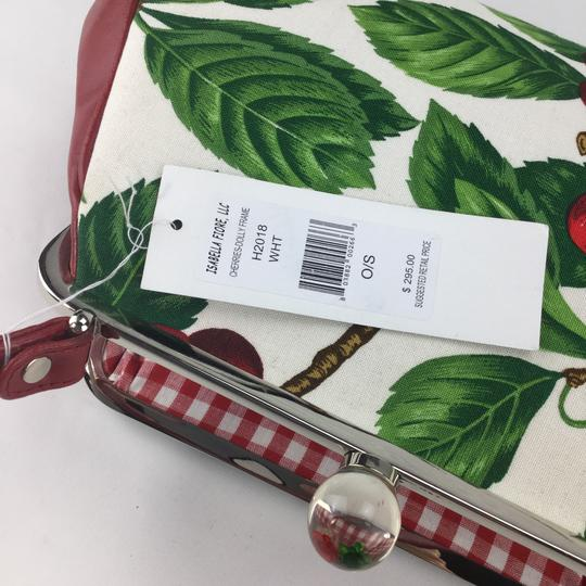 Isabella Fiore Satchel in red Image 11