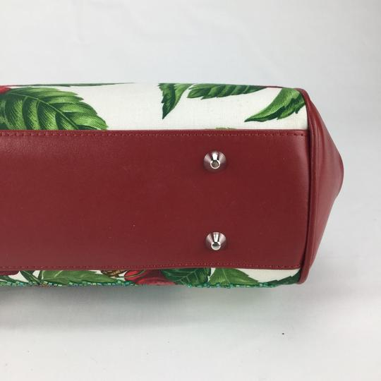 Isabella Fiore Satchel in red Image 7