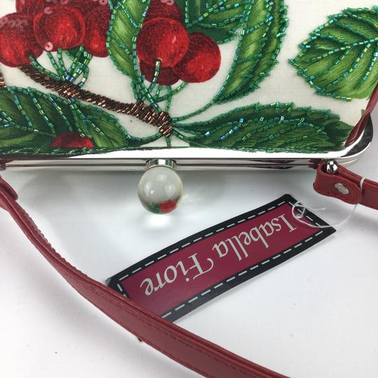 Isabella Fiore Satchel in red Image 9
