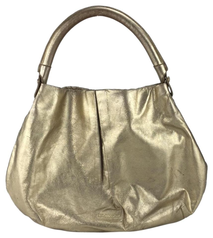 Jil Sander Metallic Gold Leather Hobo Bag - Tradesy 8be2a574f657a