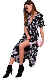 black floral Maxi Dress by Free People