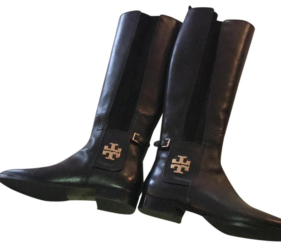 081b9a4132ba Tory Burch Black Rider Boots/Booties Size US 7.5 Narrow (Aa, N ...