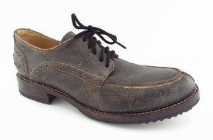 Bed|Stü Distressed Grey Oxford Derby Men's Shoes