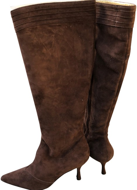 Item - Chocolate/Brown Teodatta Suede Boots/Booties Size US 8.5 Regular (M, B)