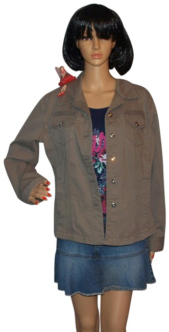Chico's Green Jacket Size 0 (XS) Chico's Green Jacket Size 0 (XS) Image 1