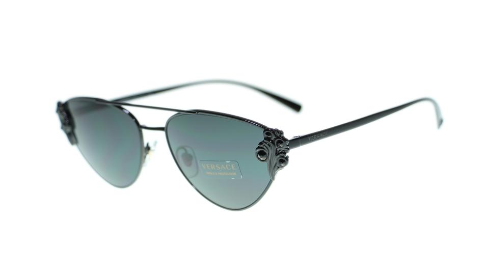c47666c0527 Versace Black Cat Eye Women Ve2195 100987 Sunglasses - Tradesy