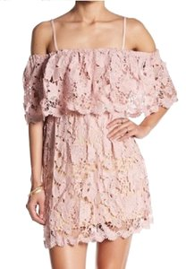 Romeo & Juliet Couture short dress pink on Tradesy