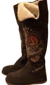 c3a30d41eab Brown Ed Hardy Boots & Booties - Up to 90% off at Tradesy