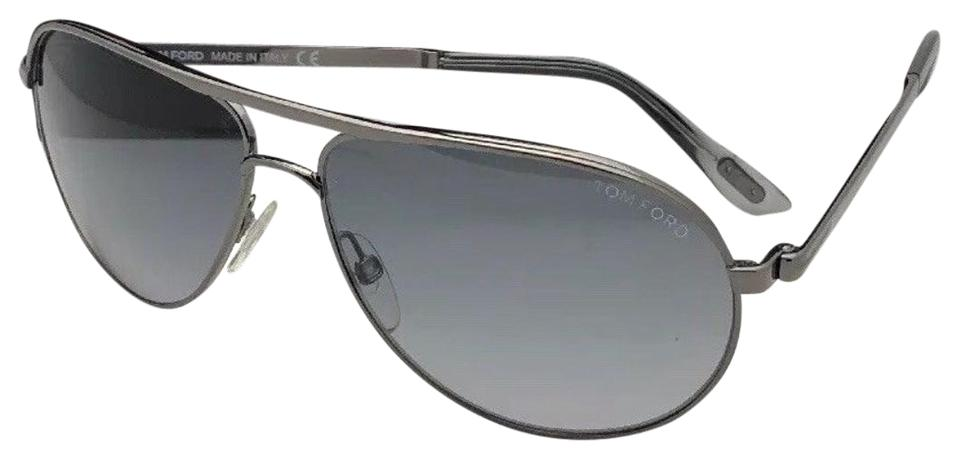 71e9186df68 Tom Ford James Bond 007 Skyfall Marko Tf 144 08b Ruthenium W  Grey Fade  Sunglasses