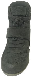 Ash Bowie Suede Military Wedges