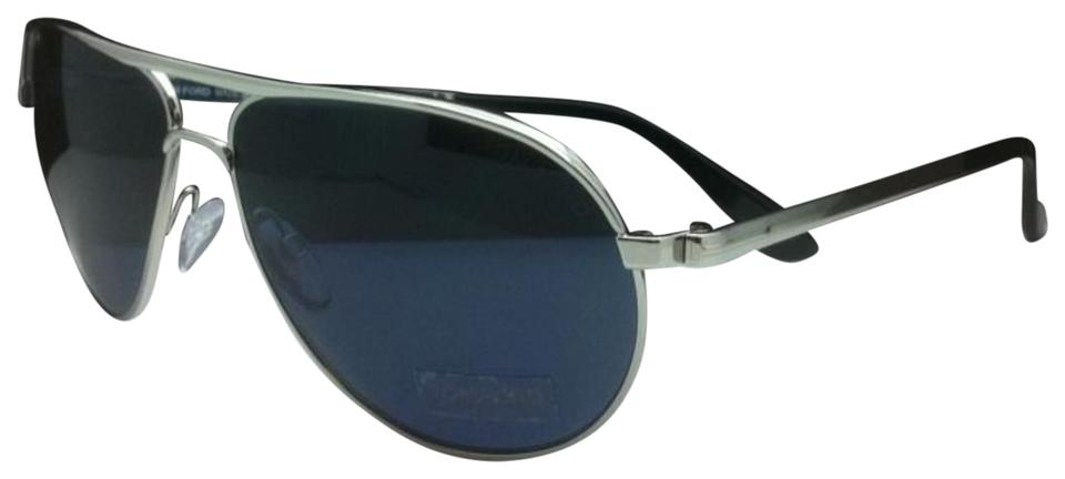 58d8b19de1a Tom Ford James Bond 007 Skyfall Marko Tf 144 18v Silver   Blue Lenses  Sunglasses