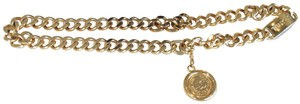 Chanel Chanel classic vintage gold tone Chain belt necklace