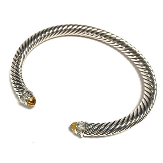 David Yurman Authentic David Yurman Cable Classics Bracelet with Citrine