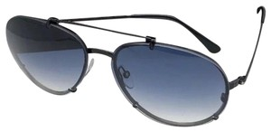 e1d8254d1c Tom Ford TOM FORD Sunglasses DICKON TF 527 01W 61-14 Black Aviator Frame w
