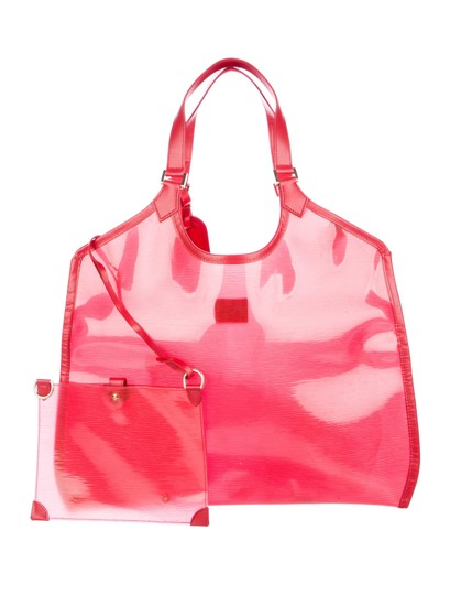 Preload https://img-static.tradesy.com/item/24446662/louis-vuitton-plage-clear-translucent-epi-baia-lagoon-bay-gm-with-pouch-868944-red-vinyl-tote-0-1-540-540.jpg