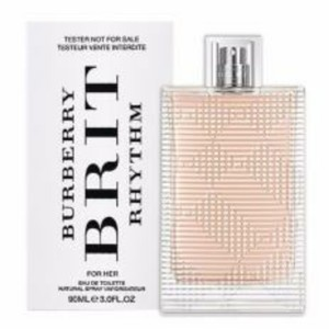 Burberry BURBERRY BRIT RHYTHM FOR HER-EDT-3.0 OZ-90 ML-TESTER-FRANCE