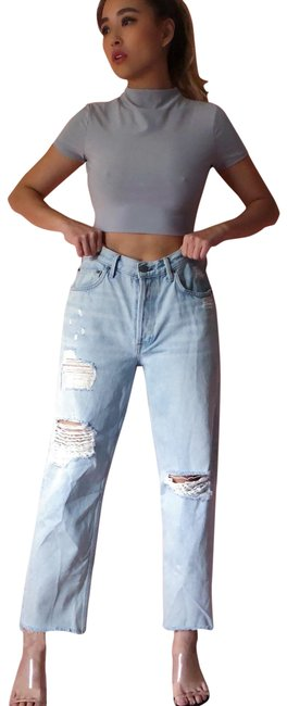Preload https://img-static.tradesy.com/item/24446724/grlfrnd-light-wash-high-waist-distressed-relaxed-fit-jeans-size-8-m-29-30-0-1-650-650.jpg