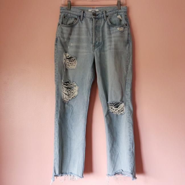 GRLFRND Relaxed Fit Jeans-Light Wash