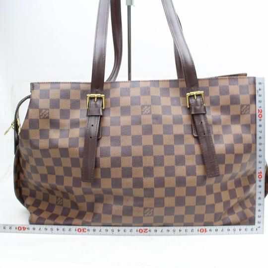 Louis Vuitton Luco Neverfull Vavin Babylone Columbine Tote in Brown