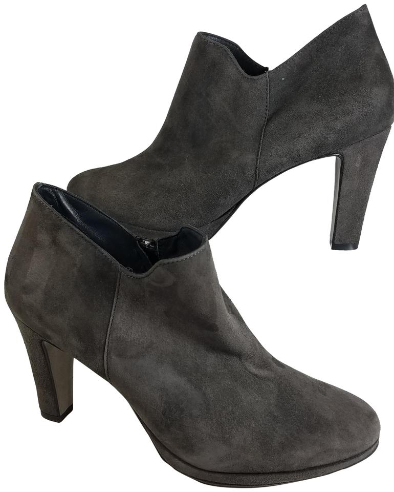 4ba151707 Paul Green Dark Gray Ankle Womens Suede Heel Boots/Booties Size US ...