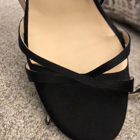 Jimmy Choo Black Satin Formal