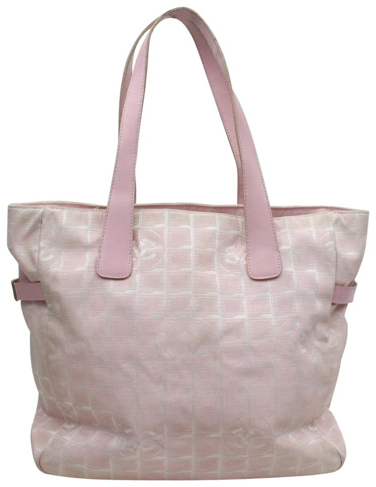 414812db4 Chanel New Line Shopper Gst Quilted Leather Tote in Pink Image 0 ...