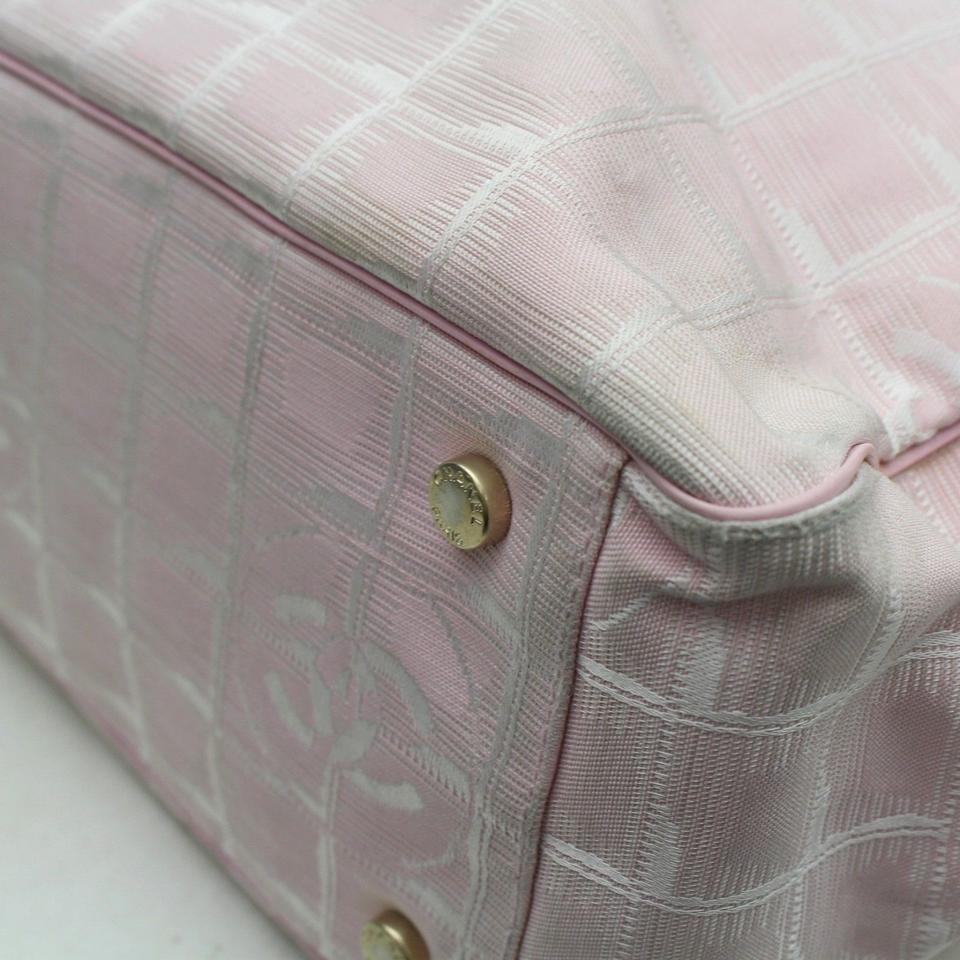 07032f608420 Chanel New Line Shopper Gst Quilted Leather Tote in Pink Image 11.  123456789101112