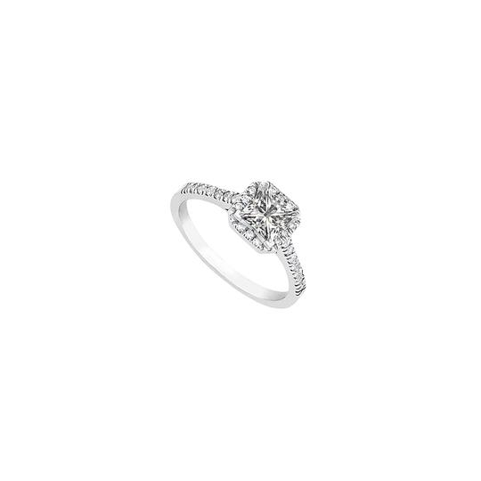 Preload https://img-static.tradesy.com/item/24446925/white-square-halo-cubic-zirconia-in-sterling-silver-100cttw-ring-0-0-540-540.jpg